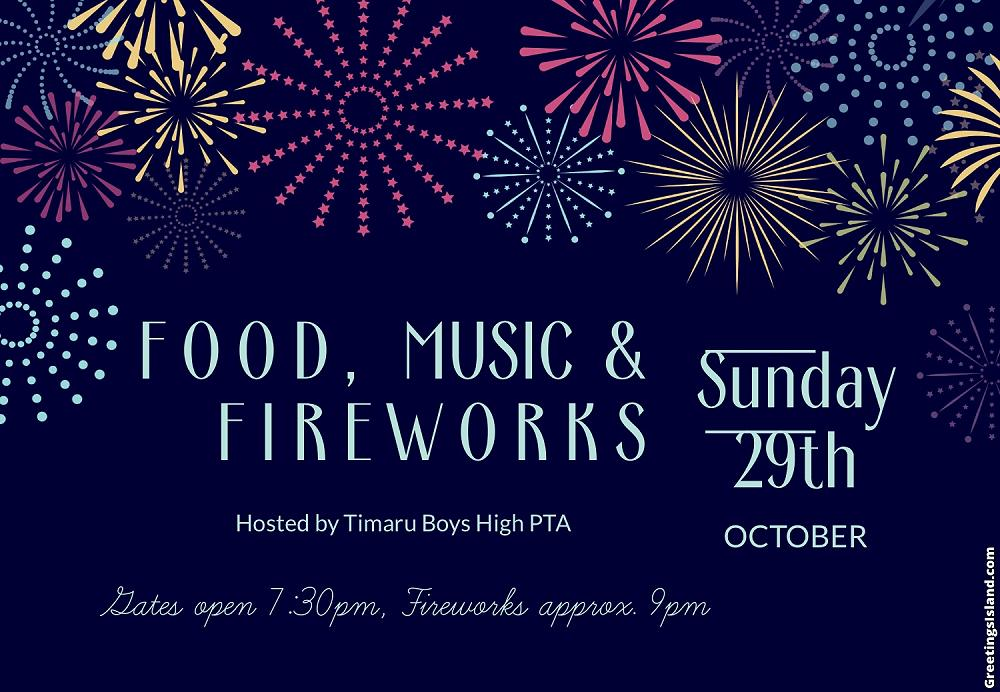 2 Fireworks Save the Date