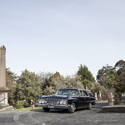 Vintage Chrysler Hearse - Hope and Sons 2015