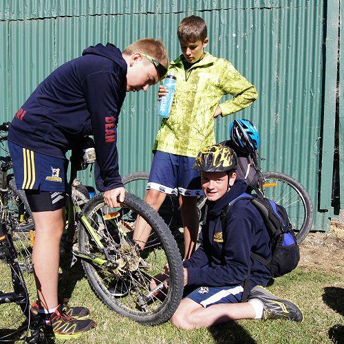 Running repairs at Wedderburn