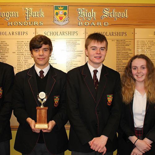 History Quiz Winners