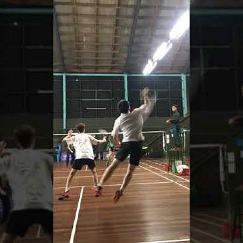 Video: Boys Doubles Badminton South Island Championships 2021