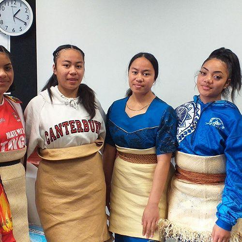 Celebrating their culture and Tongan language week