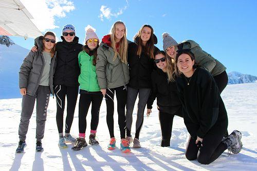 Standing on the Franz Josef glacier!