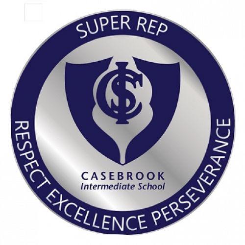 Casebrook Super-Rep Badge