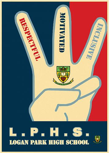 SWPB4L Respectful, Motivated, Inclusive poster