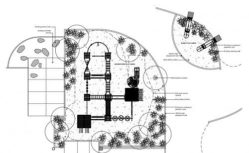Playground Landscape Plan