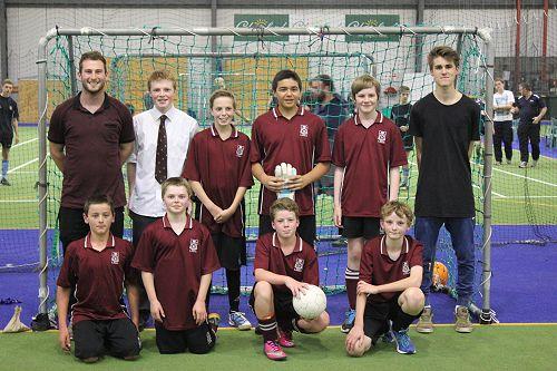 Junior boys year 9 One team.