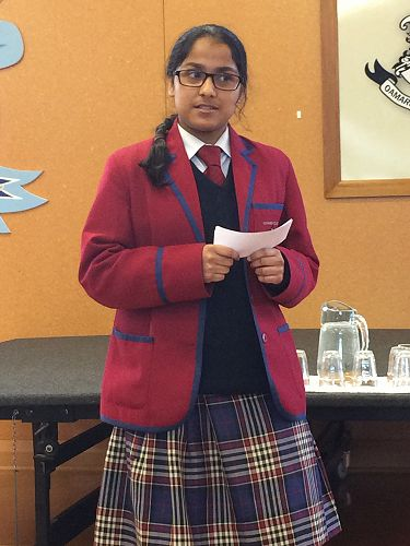 Deipa Sivaram - Prepared Speech