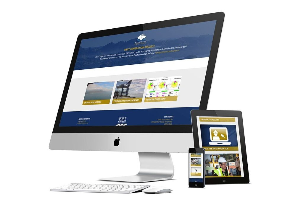Port Otago Responsive Website Design