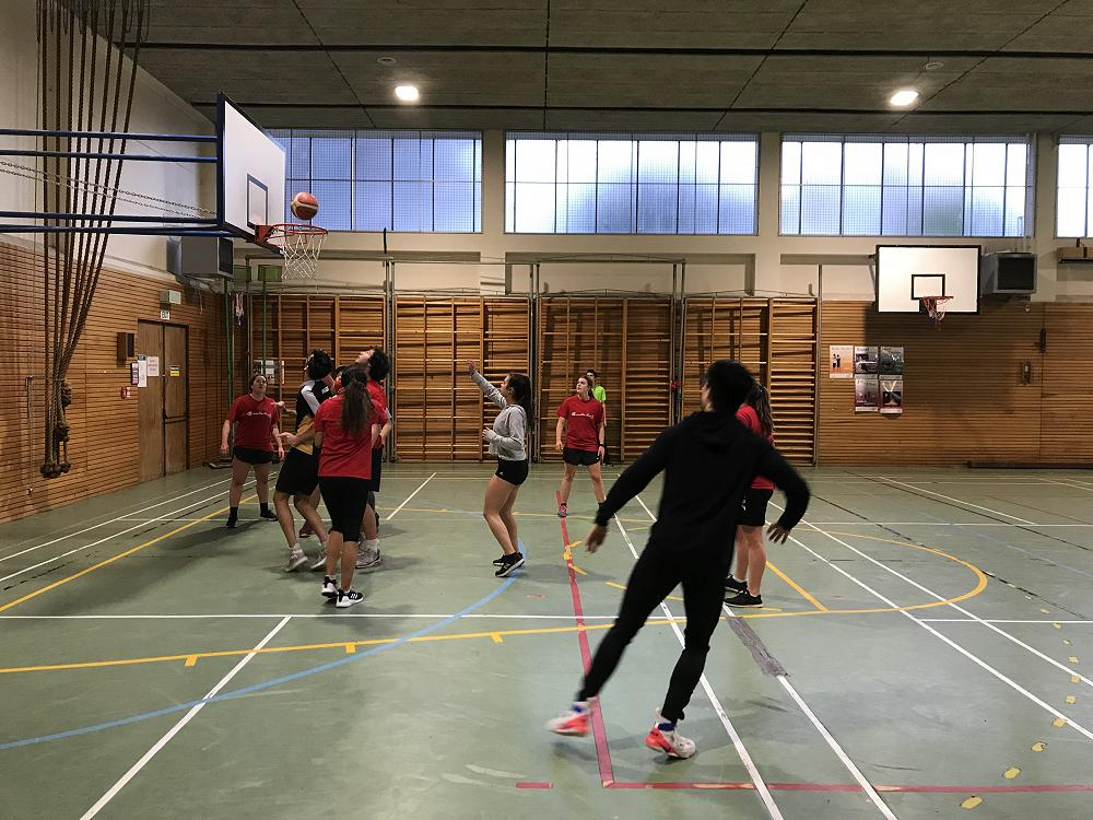Mixed basketball, 22 July 2018