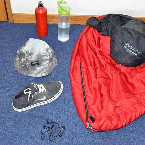 Lost property from Mt Aspiring Camps