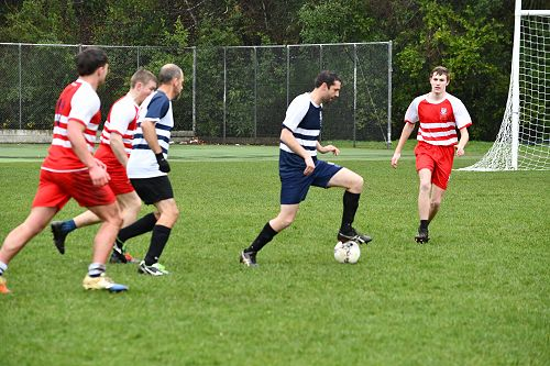 Staff v Prefects Football match