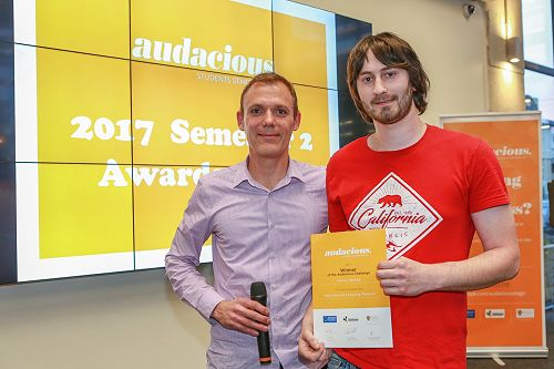 The Audacious Challenge Awards - 19 September 2017