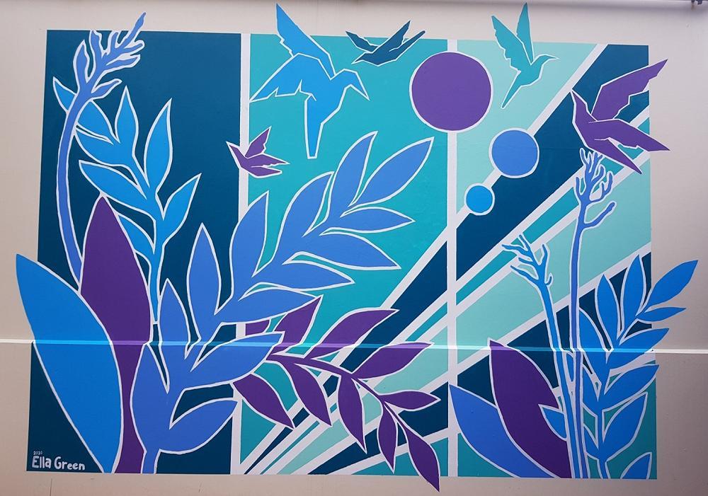 Ella Green's Mural