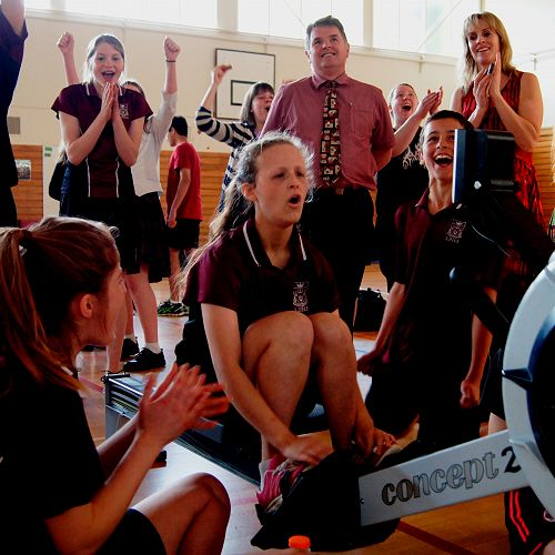 Interhouse Rowing