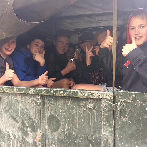 Adventures at Year 7 Camp survival.