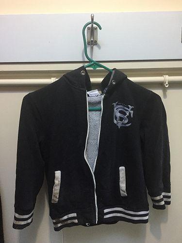 Grey and white hoodie (CVS logo)