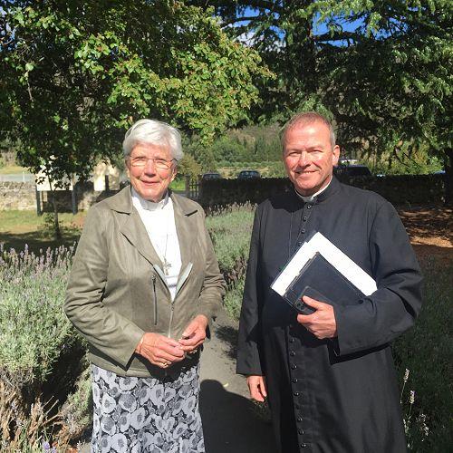 Rev'd Penny Sinnamon and Bishop Steve Benford