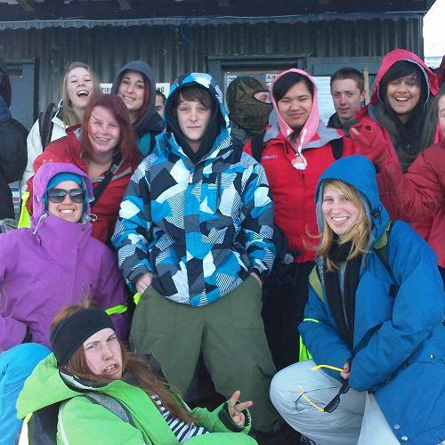 Year 12 PE Snowboarding