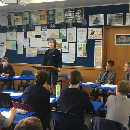 Damien Clinch - Year 9 debating