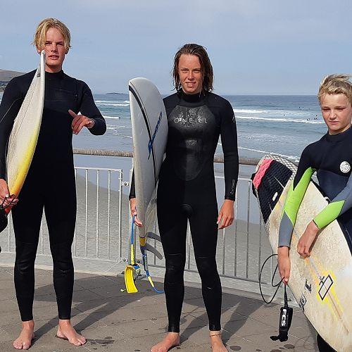 Luke Ohlson, James Watt and Jake Owen