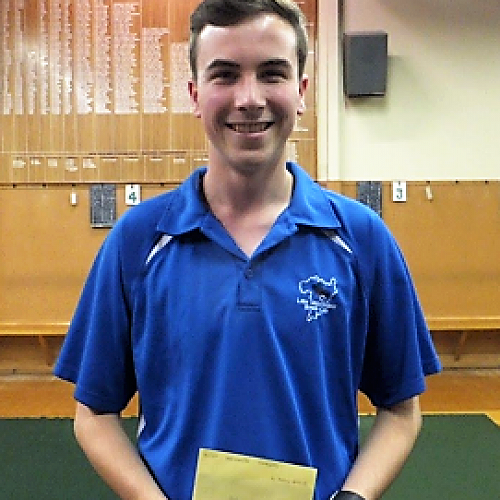 Matthew Farquar - Indoor Bowls Champion