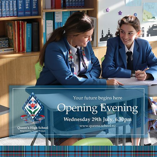 Queen's Open Evening