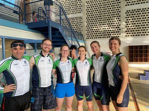 Staff relay team