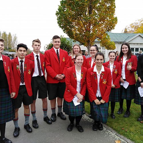 GHS students attend Anzac Day