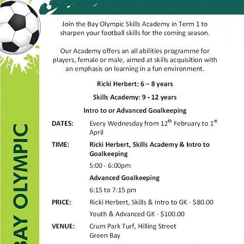 Bay Olympic Academy Term 1