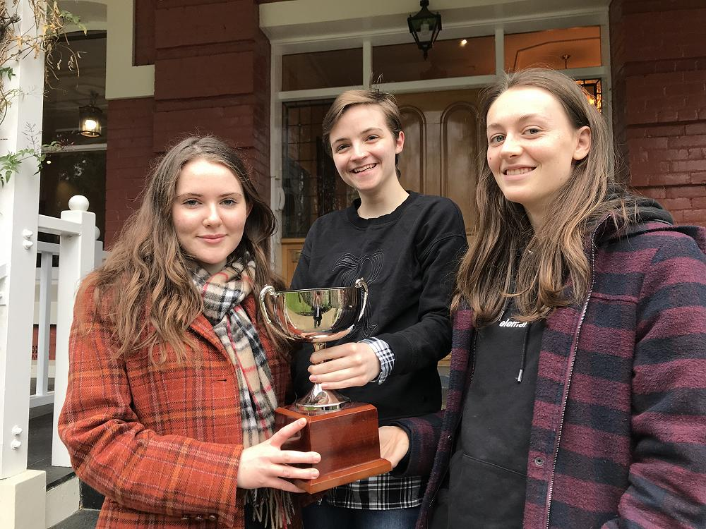 Debating Competition Winners, August 2018