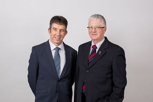 Tim Loan (left), Presbyterian Support Southland Ch
