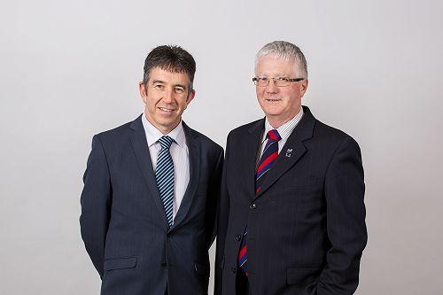 Tim Loan (left), Presbyterian Support Southland Ch