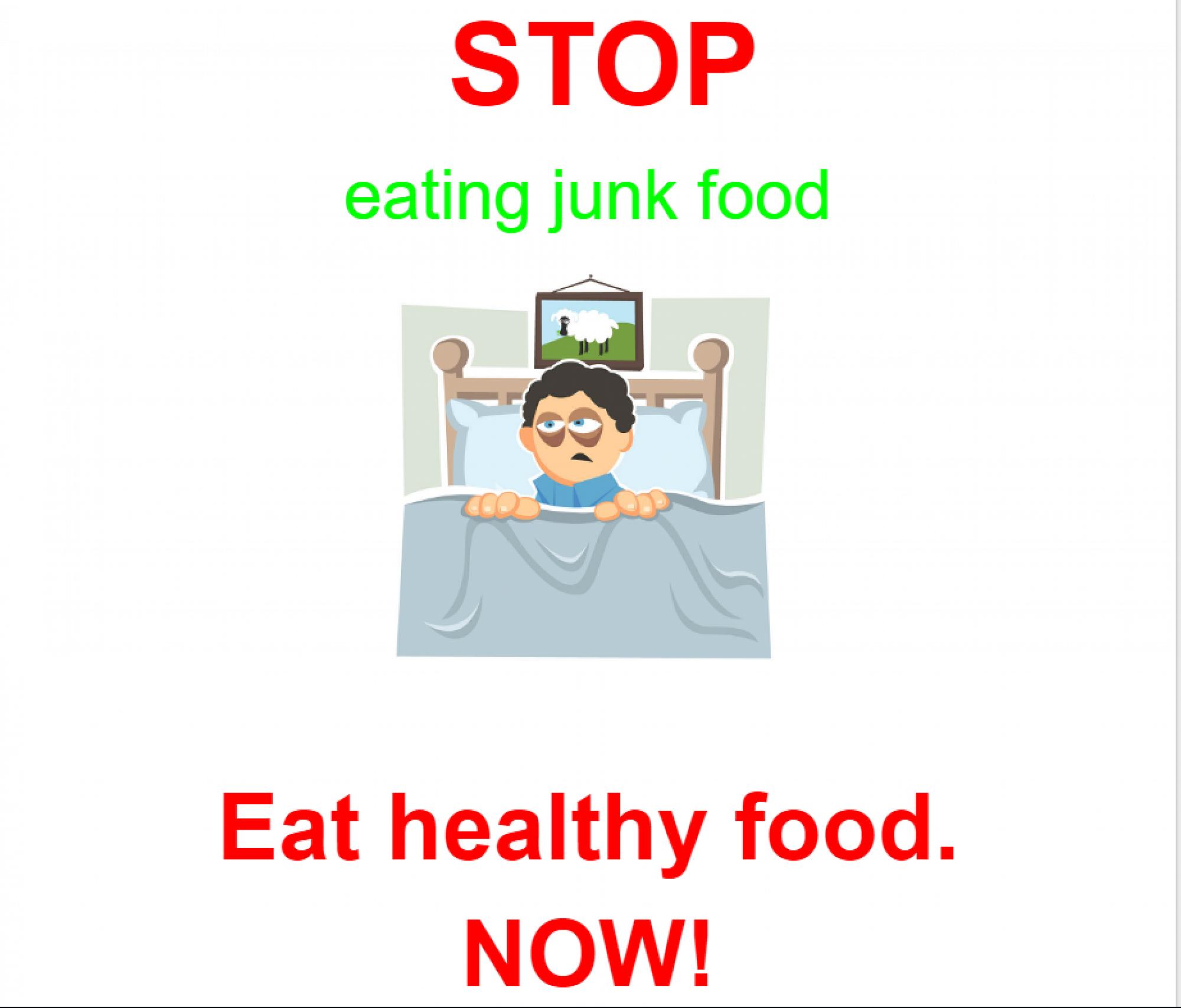 Persuasive Health Posters
