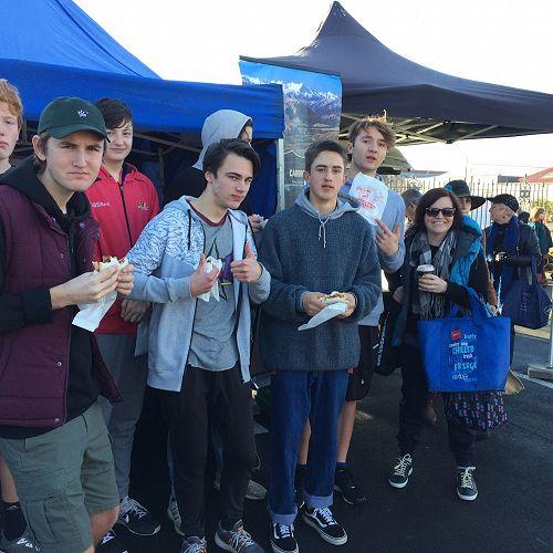 Otago Farmers Market Visit