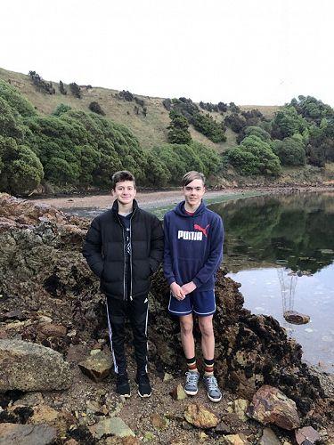 Jeremy Meikle and Oliver Lodge