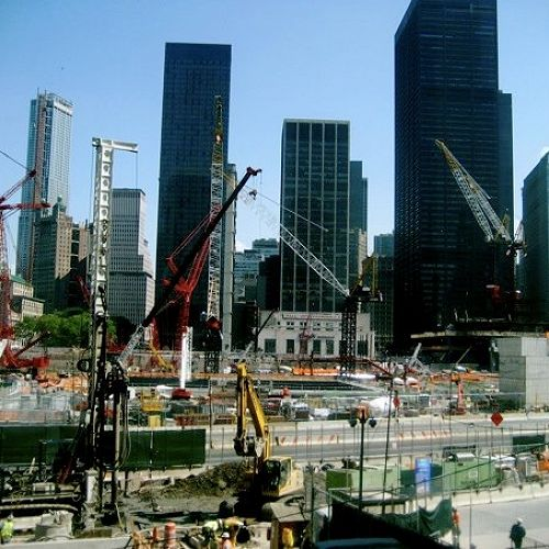 Rebuilding, Ground Zero.