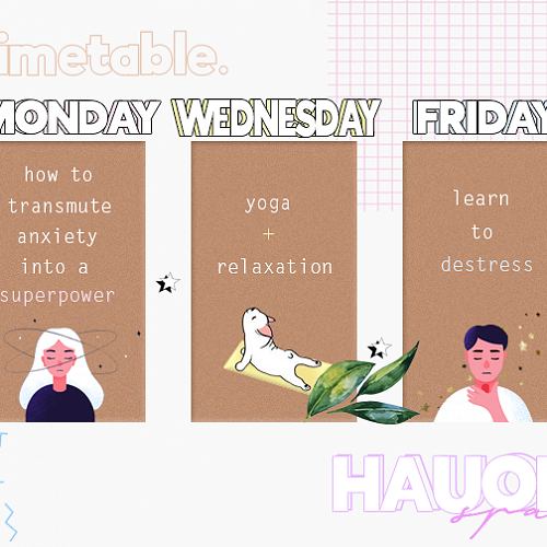 Hauora Space Timetable
