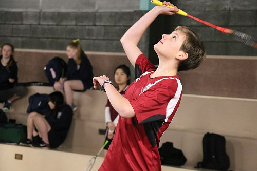 Girls Badminton