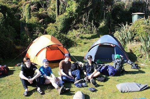 Duke of Edinburgh's Hillary Award<br /> <br /> Hollyford Track