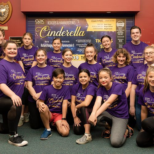 Roncalli Students in Cinderella