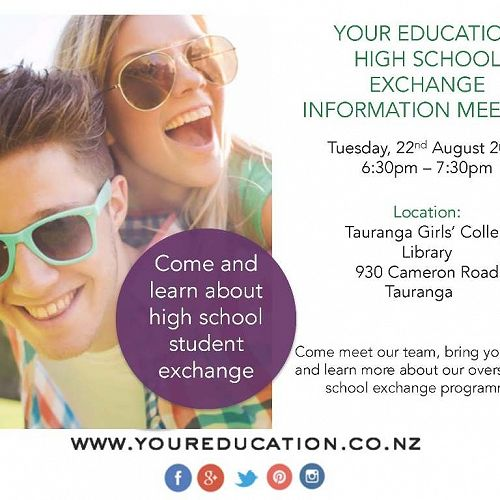 High School Exchange Information Meeting