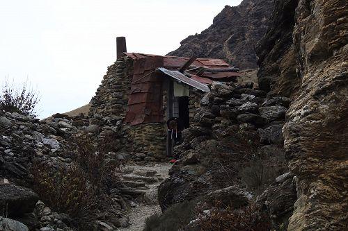 Chinese Miners Hut at Kawerau Mining Centre