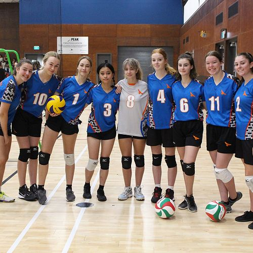 Senior Girls Prem Volleyball