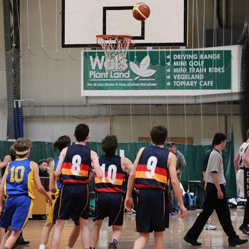 Junior South Island Basketball tournament in Dunedin, 2016