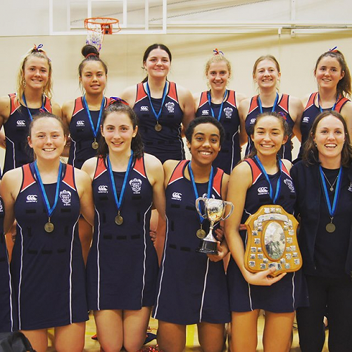 South Island Secondary Schools A grade Netball Competition