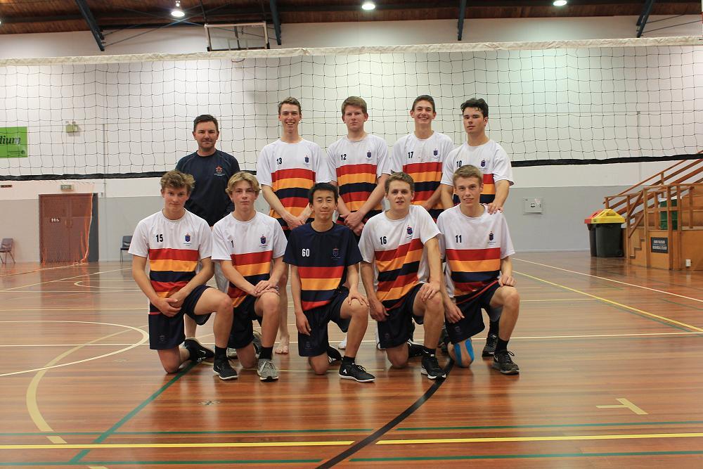 The JMC Volleyball A Team