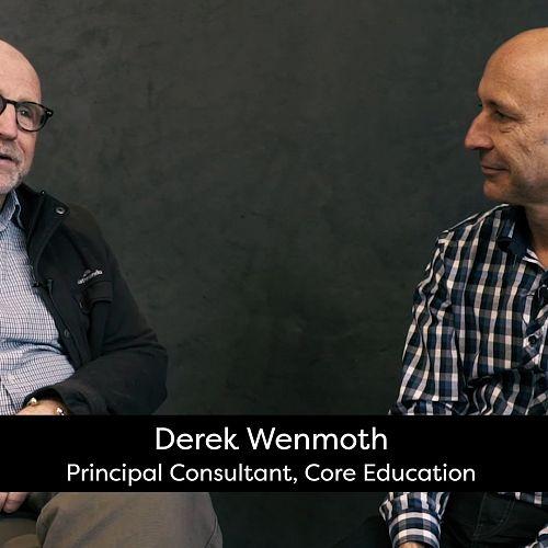 Video: Derek Wenmoth conversation with Darren Sudlow