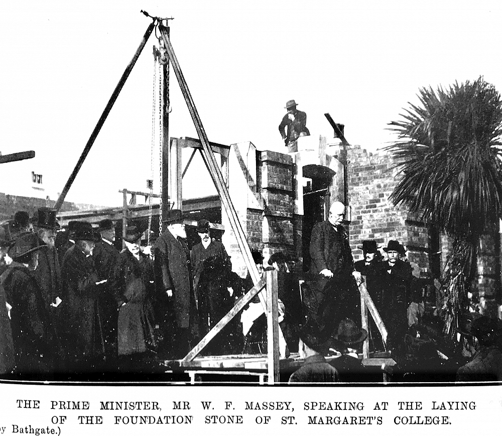 Laying of the College's Foundation Stone on 2 June