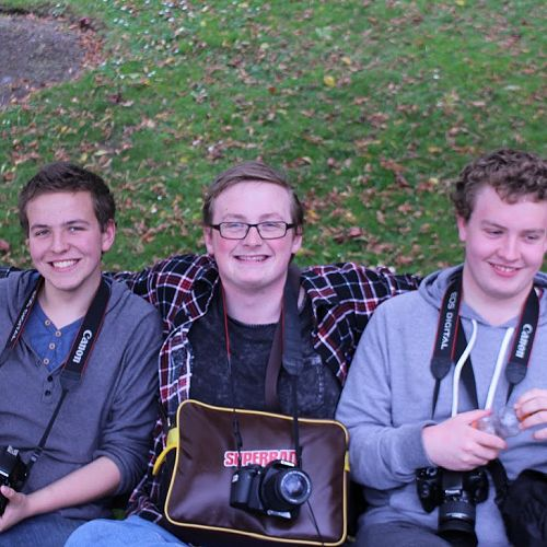 From left; Liam Hynd, Jared McKenna, Chris Cole